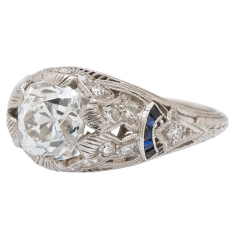 deco platinum ring deco platinum ring cowan s auction house the midwest s most trusted auction house