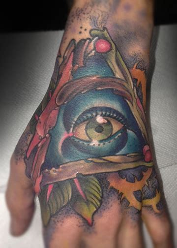 wild oats tattoo all seeing eye oats