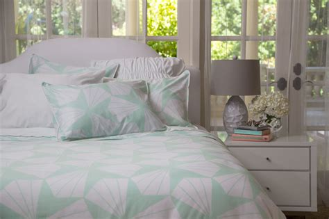 mint green bed sheets the taylor mint green bedding set contemporary bedroom san francisco by crane
