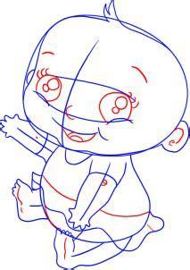 menggambar bayi lucu menggambar asik