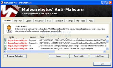 manual removal of harmful files antispyware spyware fighter removal guide