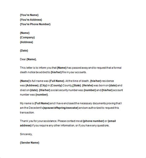 layout for notice notice templates 104 free word pdf format download