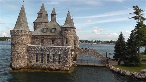 boat building kingston ontario gananoque 1000 islands boldt castle youtube