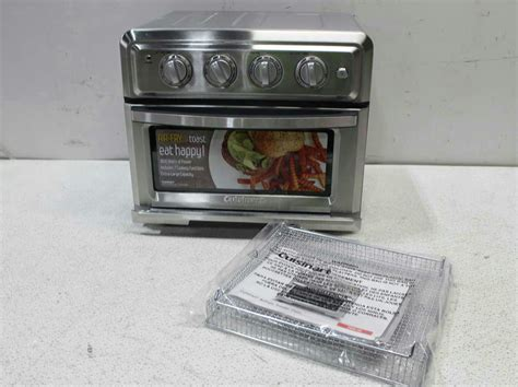 Ebay Toaster Oven Cuisinart Toa 60 Convection Toaster Oven Air Fryer With
