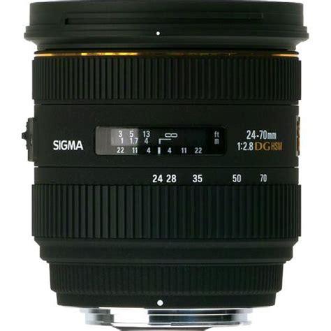 Sigma 24 70mm F2 8 If Ex Dg Hsm sigma 24 70mm f 2 8 if ex dg hsm lens for canon ef 571101 b h