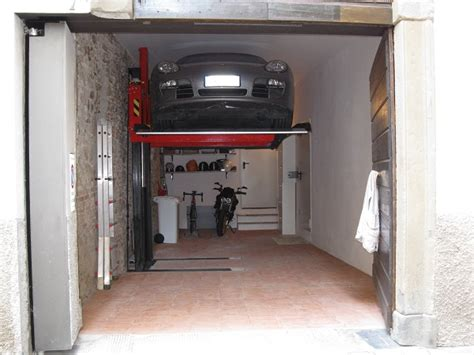 normativa box auto elevatori per auto monocolonna