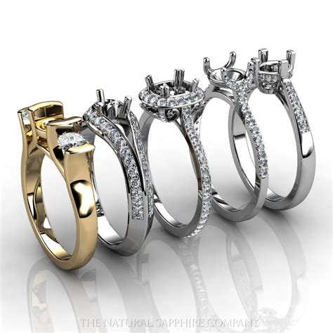 ring settings ring settings and mountings wholesale jewelry