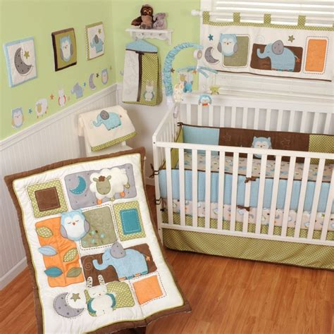 sumersault crib bedding sumersault nitey nite baby bedding collection baby