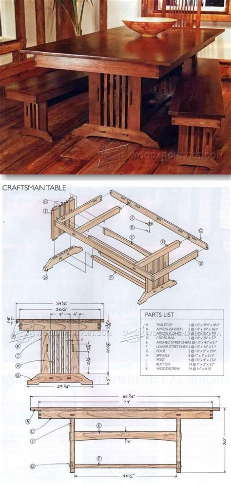 mission style couch plans 25 best ideas about craftsman furniture on pinterest