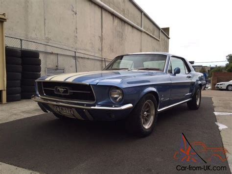 Ford Mustang 1967 2d Hardtop 289 3 Sp Automatic 4 7l Carb Burnt In Melbourne Vic Ford Mustang 1967 2d Hardtop 3 Sp Automatic 4 7l Carb