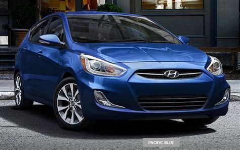 Blue Hyundai Accent by Hyundai Accent Blue 2015