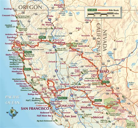 california map northern cities northern california quotes quotesgram