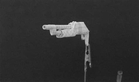 Origami Gun - origami guns shotgun by solidmark on deviantart