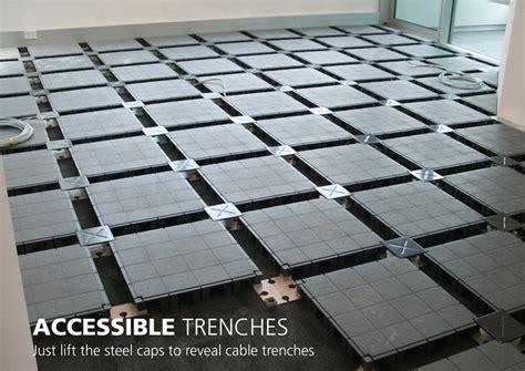Raised Flooring by Raised Flooring System Commercial Raised Access Floor