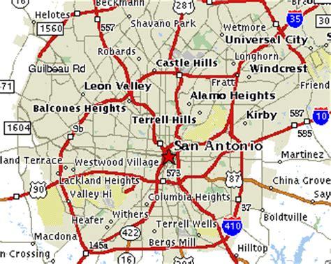 fort sam houston texas map fort sam houston map my