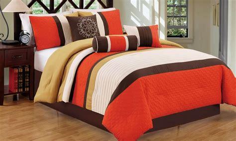 color block comforter color block comforter set 7pc groupon goods