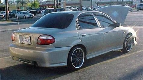 kia sephia 98 99 00 01 sleek front bumper bodykit