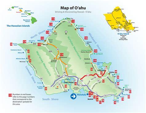 printable road map of hawaii road map of oahu my blog