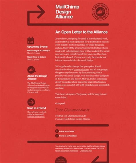 newsletter template mailchimp 39 beautiful email newsletter templates neweb