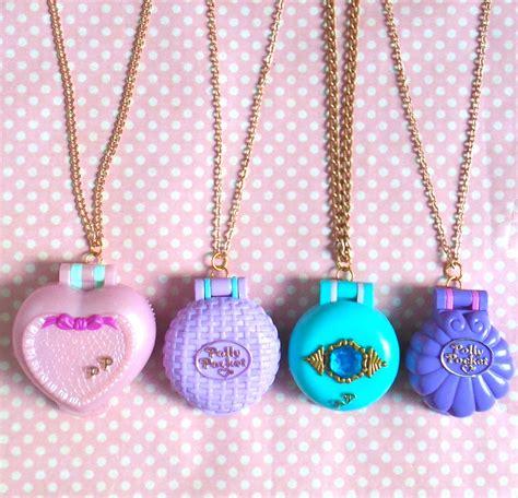 Pocket Necklace 90s polly pocket locket necklace by kawaiikave on etsy