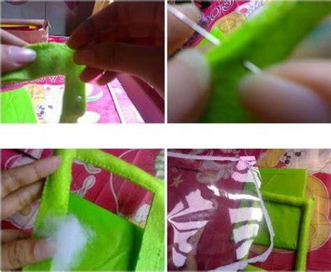 tutorial pigora unik tips membuat bingkai foto lucu dari kain flanel tutorial