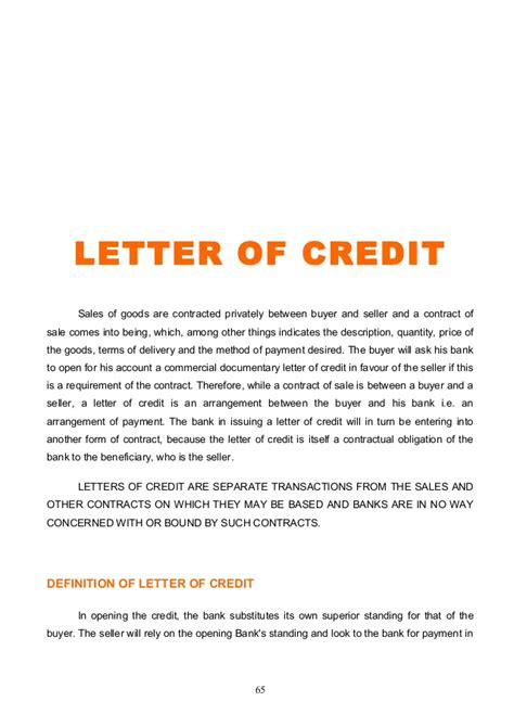 Bank Standby Letter Of Credit Sle letter of credit sle letter of explanation for credit