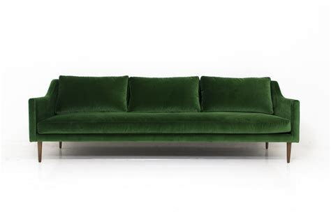 modern green velvet sofa lovely velvet green sofa 71 contemporary sofa inspiration