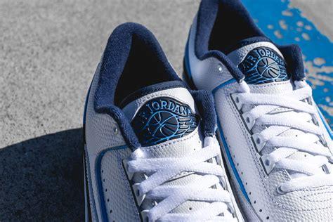 Air 2 Retro Low 832819107 Blue Jumpman Ii Basketball Shoes Oss air 2 retro low infrar 248 d outlet