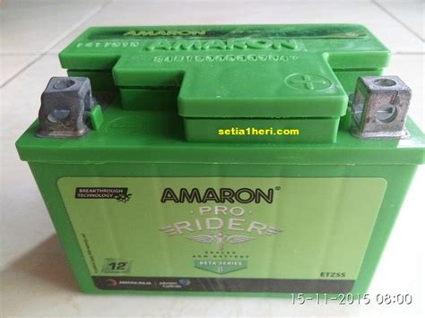 Accu Mobil Merk Amaron review aki amaron sesi 1 warna hijaunya memukau dan