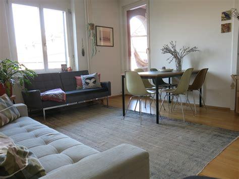 wohnzimmer naturtöne wanddeko selber machen mit farbe
