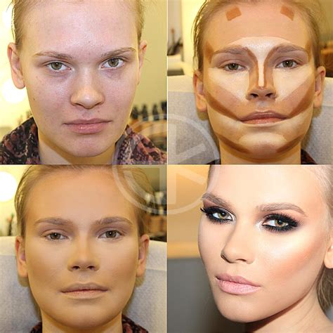 Makeup Contour the of contouring step by step tutorial beautiful
