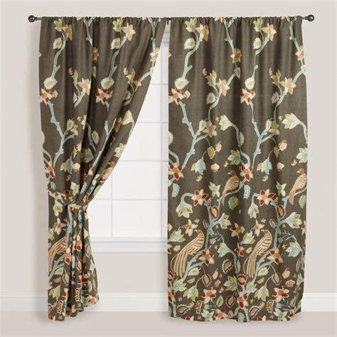 world market bird shower curtain 15 best images about living room idea 4 on pinterest