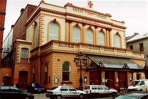 cain: photograph the ulster hall, belfast