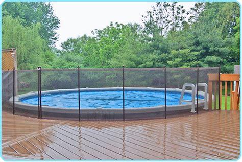 above ground pool deck fencing aboveground pool deck