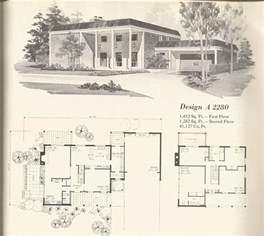 1970s bi level house plans 1970s house plans vintage
