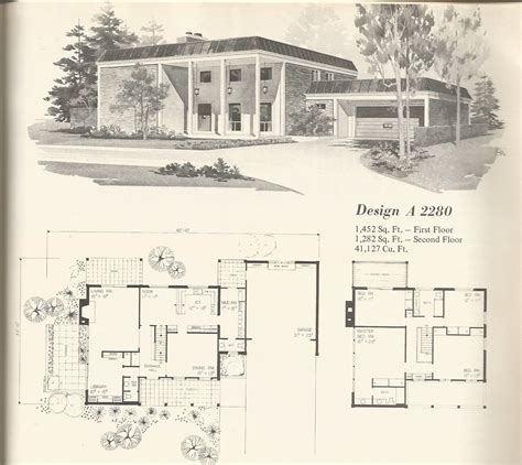 1970 house plans 1970s bi level house plans 1970s house plans vintage vintage house designs