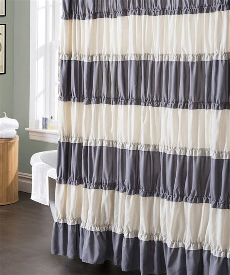 Gray And White Shower Curtains by Gray And White Shower Curtain For The House