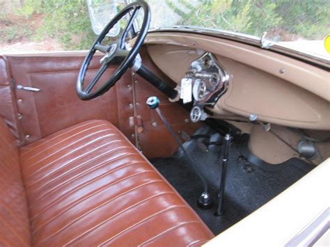 model a ford upholstery 1930 ford model a roadster 170253