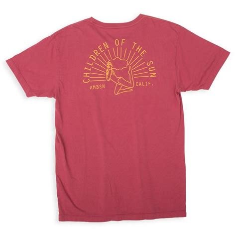 S T Shirt Collections 235g725 sun worship ambsn