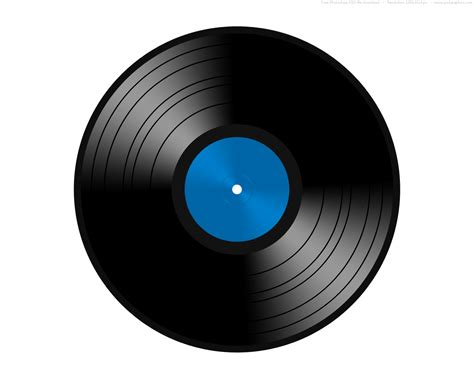 Record Template psd vinyl record icon psdgraphics