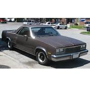 Chevy El Camino A Coupe Util&173ity Car Truck