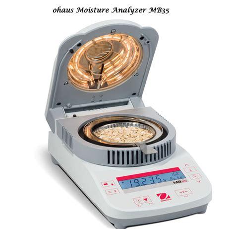 moisture analyzer offering ohaus moisture analyzer mb45 mb35 mb25 mb23