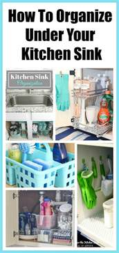 How To Organize Kitchen Cabinets how to organize under the kitchen sink