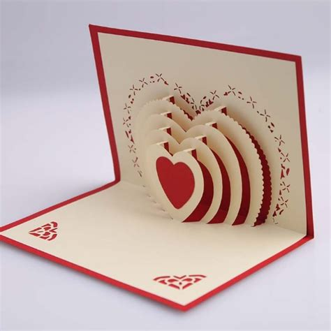 Card 3d 5pcs lot 3d pop up card diy drawing design card for wedding birthday festival