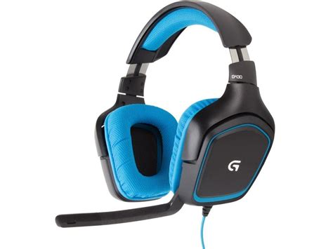 G430 Gaming Headset logitech g430 gaming headset kablet headset komplett no