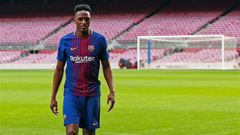 yerry mina yerry mina delighted to complete dream barca move