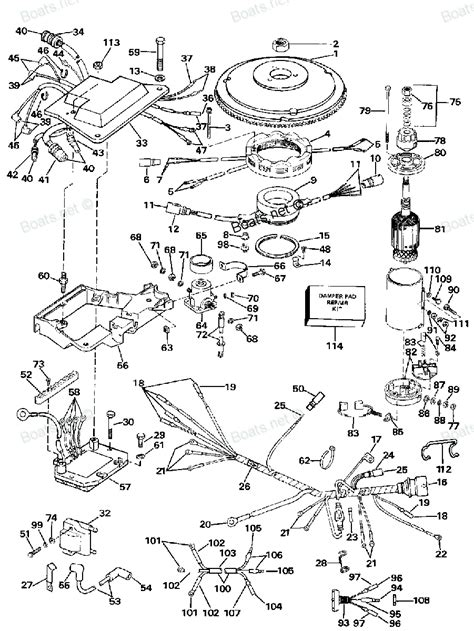 outboard motor diagram motor parts johnson outboard motor parts diagram