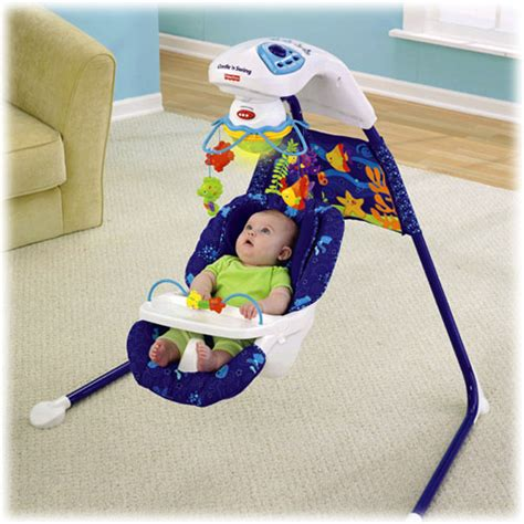 fisher price wonders cradle swing object moved