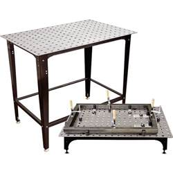 strong welding table strong tools fixturepoint table and tools kit 28 pc startup kit square stock model