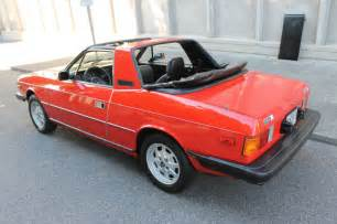 Lancia Beta Spider 1979 Lancia Beta Zagato Spider Classic Italian Cars For Sale